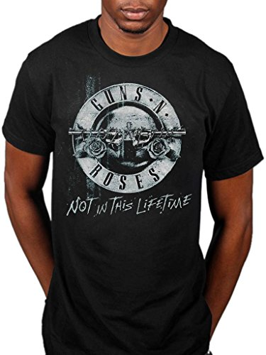 Official Guns N Roses Not In This Lifetime Tour Xerox T-Shirt