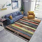 Classic Alternative Rock Records Area Rugs Non-Slip Floor Mat Doormats Home Runner Rug Carpet for Bedroom Indoor Outdoor Kids Play Mat Nursery Throw Rugs Yoga Mat