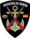 Artimagen Pegatina Escudo Pico Infantería de Marina 40x60 mm.