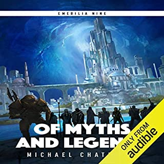 Of Myths and Legends audiobook cover art