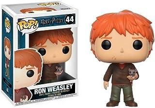 "FUNKO POP! 14938 ""Pop Vinyl Harry Potter Ron Weasley with Scabbers"" Figure"