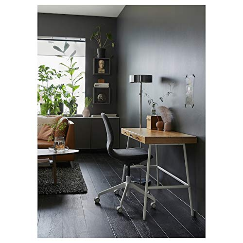 Escritorio Tok Mark Traders PÅHL de bambú, 102x49 cm, duradero y fácil de cuidar. Escritorios para el hogar. Escritorios y escritorios para computadora. Mesas y escritorios. Muebles. Ambientable.