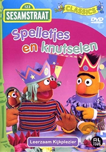 Sesamstraat-Spelletjes en Knutselen