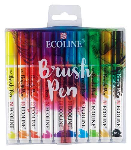 Ecoline WATERCLR Set 10/PKG, Multicolour, One Size