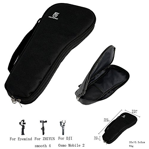 Fdrone   Portable Bag Handbag Carrying Case for DJI OSMO Mobile 2 for ZHIYUN Smooth 4 Handheld Gimbal Black