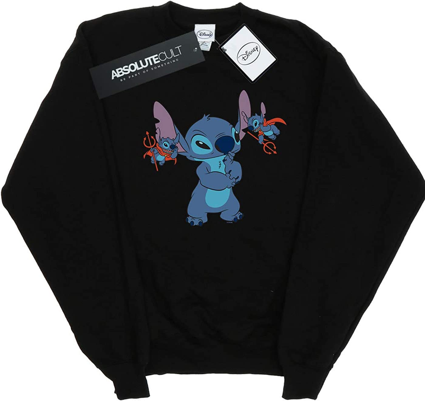 Disney Gar/çon Lilo /& Stitch Little Devils Sweat-Shirt
