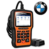 FOXWELL NT510 Elite Full Systems Scanner for BMW Automotive Obd2 Code Reader Bidirectional Diagnostic Scan Tool with SRS EPB SAS TPS Active Test Oil Reset Battery Registration