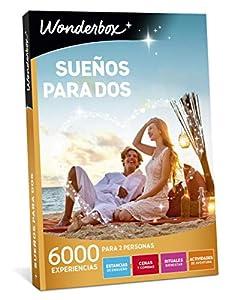 WONDERBOX Caja Regalo para Dos - SUEÑOS para Dos - 6.000 experiencias para Dos Personas