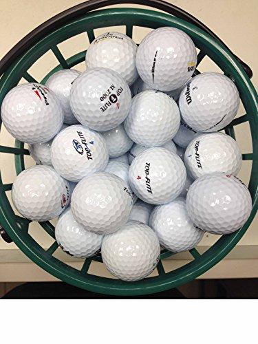 Lot de 100 balles de Golf Assorties AAA/AA