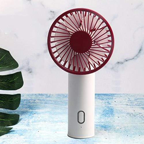JDfsb USB-ventilatoren, draagbare mini-ventilator, met accu, 3-voudig afneembaar USB-laadstation voor thuis, kantoor, outdoor-reizen