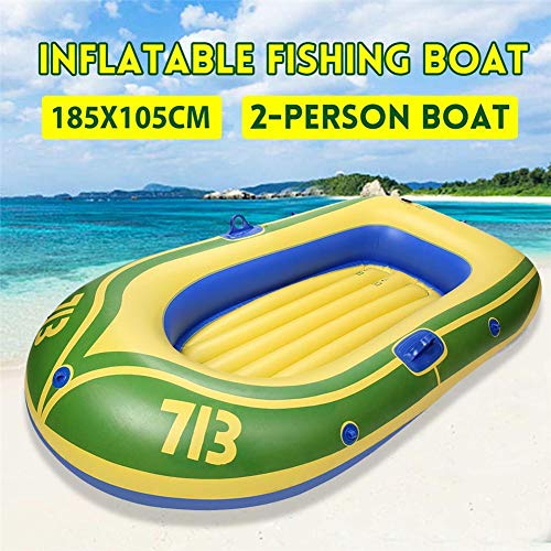 Fantastic Prices! Inflatable Boat for Pool, Inflatable Kayak for Adult and Kids, Rowing Air PVC Boat...