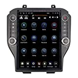 LinksWell GEN IV 12.1 Inch Radio Replacement for Ford Mustang 2015 to 2020 Android Auto Head Unit Car Stereo Tablet Radio for Mustang Multimedia Player GPS Navigation System TS-FDMU12-1RR-4A