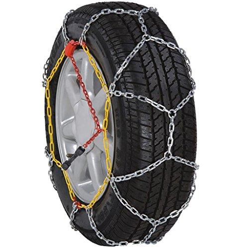Aynefy - Cadena de nieve para coche, 2 unidades, 12 mm, KN90 205/5516 205/6515 205/5017 215/4517