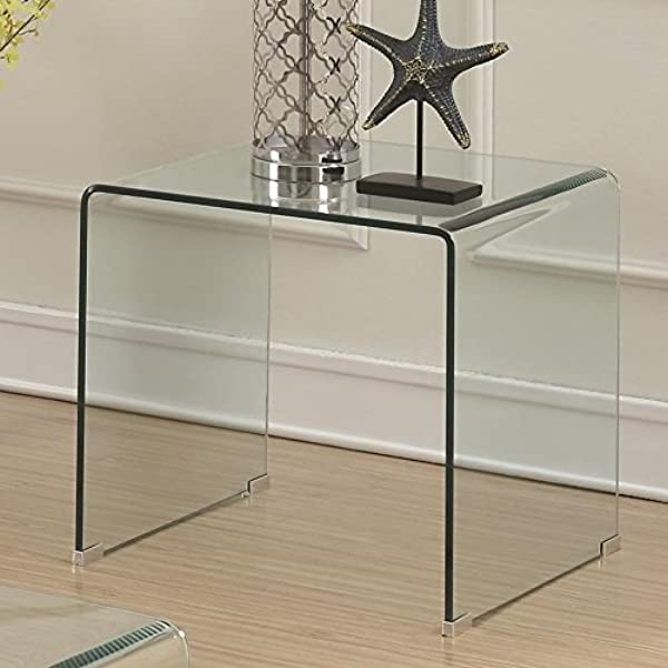 Coaster Home Furnishings 705327 End Table Clear