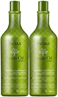 Inoar Kit Shampoo e Condicionador Argan Oil Hidratante 1L, Pack of 2