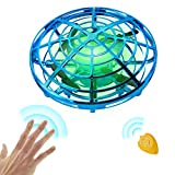 Flying Ball Drones Toys for Kids Adults - Hands Controlled Mini Helicopter Drone with 360° Rotating and Shinning LED Lights - Easy Indoor Flying Ball Drone Toys for Boys & Girls
