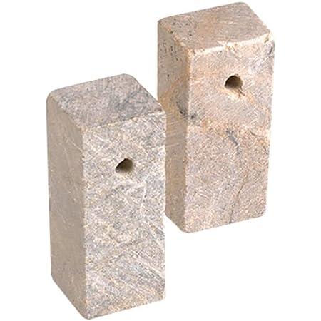 10 cm gro/ß vorgefertigte Figur aus Speckstein zum Bearbeiten mit Raspel und Feile bunt Honsell 79213 Rohling Eule ca ideal auch f/ür Kinder