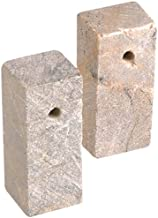 Efco Soapstone Blank Rectangular Cube with Hole, Neutral by