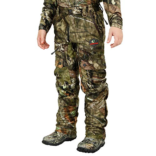 Mossy Oak Sherpa Youth Hunting Pants, Kids Hunting Clothes, Boys Camo Pants