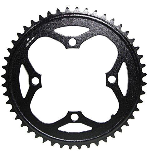 Bosch 6013480041857CJ Kettenblatt E-Bike für Bosch Motor Gen1 2014,schwarz,48 Zähne,Alu, S-Pedelec (1 Stück)