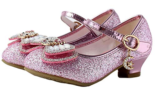 YOGLY - Schuhe für Kinder in Pink, Größe 35 EU