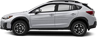 Dawn Enterprises FE-CROSSTREK Finished End Body Side Molding Compatible with Subaru XV Crosstrek - Dark Gray Metallic (61K)
