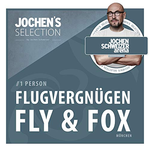 Jochen Schweizer Arena Fly & Fox (Bodyflying 2 Minuten + Flying Fox) I Indoor Skydiving & Outdoor Flying Fox XL Parcours I Erlebnis-Box Body-Flying & Flying Fox I Windkanal Fliegen I Erlebnisgutschein