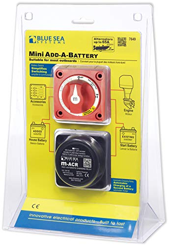 Blue Sea Systems Mini Add-A-Battery Kit - 65A