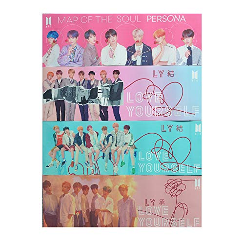 Fansisco Bangtan Boys Army Love Yourself Answer Support Banner and Map of The Soul Persona Bunting Garland forBangtan Boys Party Concert Flag