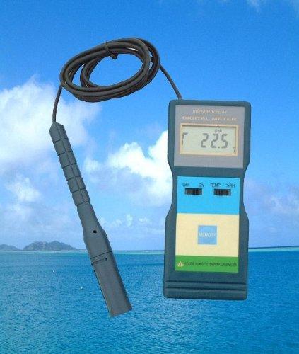 Digitales Thermometer Hygrometer Messgerät Feuchtigkeit Taupunkt Wohnklima T10