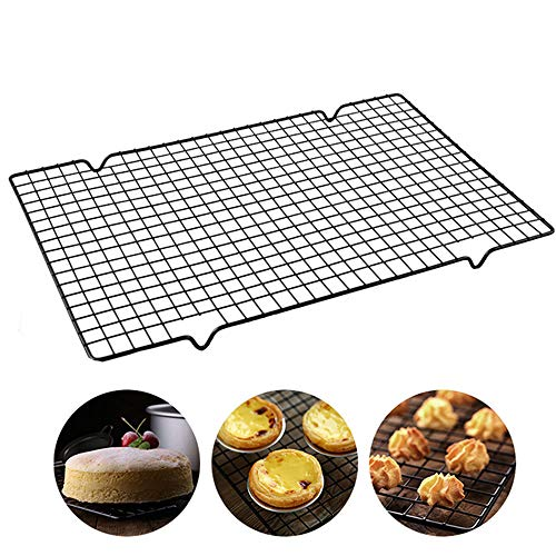 Baking and Cooling Rack, Oven Safe Heavy Duty Commercial Quality for Roasting, Cooking, Grilling, Drying (9.84' x 10.63')