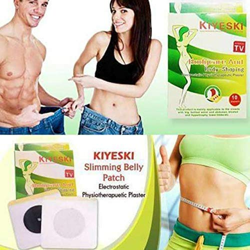 FEDORA Empire Natural Herbs Weight Loss Slimming Balanced Diets Slim Patch Pads – 10 Pads