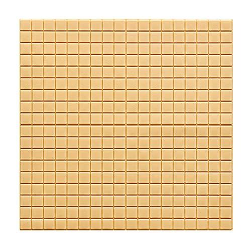 papel decorativo paredes,Papel De Pared 3d, Azulejos Adhesivos Resistente Calor Impermeable Protector contra Salpicaduras Vinilo Cocina Vinilos Para Baños Murales Decorativos Pared 70*70cm(Color: