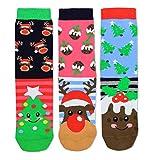 Angel Weihnachten Oddsocks Socken in 37-42 im 3er Set - Strumpf