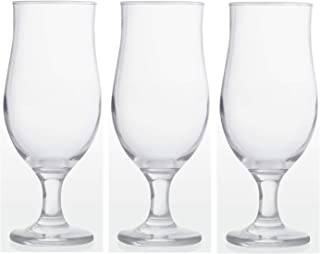 Epure Collection Glass Drinkware Set (Awesom Hurricane (11 oz) - 3 pc.)