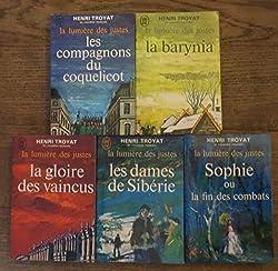 La lumière des justes complet(les compagnons du coquelicot-la barynia-la gloire des vaincus-sophie-les dames de siberie)