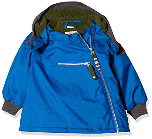 Racoon Baby-Jungen Cilas Solid Jacket Jacke, Blau (Princess Blue PRI), 80