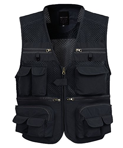 KEVITEVD - Multi-Pocket Fly Fishing Vest