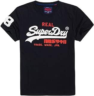 Superdry Men's Vintage Logo Tri T-Shirt, Blue