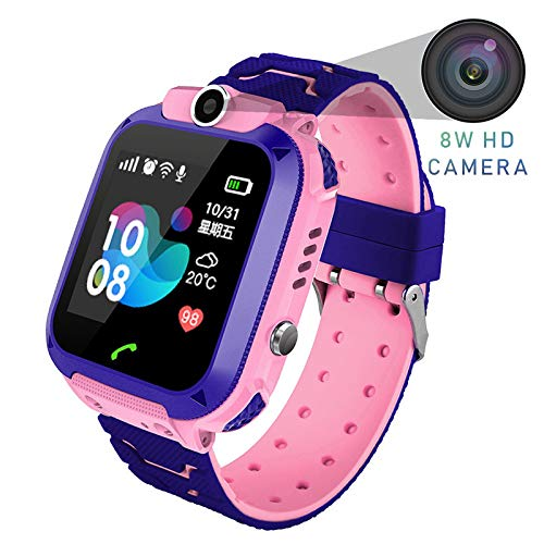XINGKEJI Kids Smartwatch LBS/GPS Locator 1.44 inch Colorful Touch Screen Tow-Way Call Kids Wrist Watches, The Best Birthday Gifts Ever