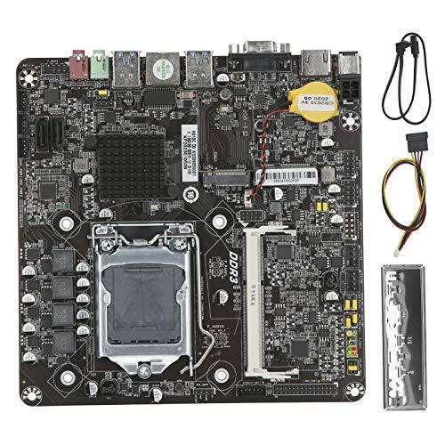 Placa Base para Mini PC, Placa Base para computadora Thin-ITX con procesador de CPU LGA1151 Pin 6/7/8/9.a generación, componentes de computadora adecuados para el hogar, conferencias y educación