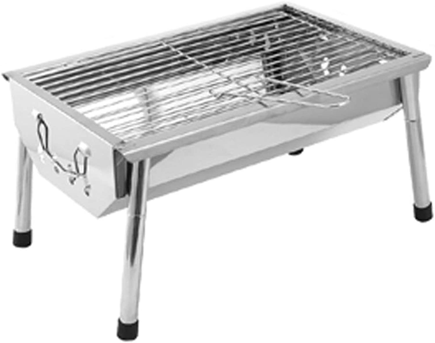WN  Camping Stove Grills Outdoor Grill  23 People 5 Stove Folding Household Stainless Steel Charcoal Small Grill Outdoor Grill