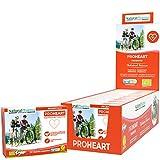 NaturalPharma Probiótico ProHeart Pack x10. Control del Colesterol. Certificación Ecológica. Levadura de Arroz Roja + Vitamina B1. Cápsulas Smart BioCaps®. Sin Gluten, Sin Lactosa, Vegano.