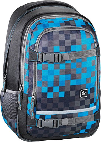 All Out Selby Rucksack Blue Pixel blue pixel
