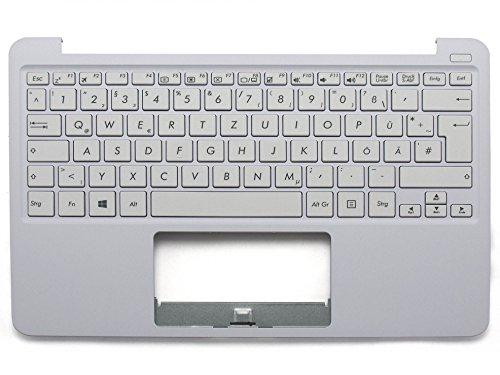 ASUS EeeBook X205TA Original Tastatur inkl. Topcase DE (deutsch) weiß/weiß
