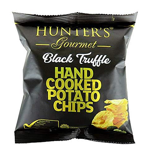 ハンターズ 黒トリュフフレーバーポテトチップス 40g 黒トリュフ 成城石井 ポテチ 今夜くらべてみました