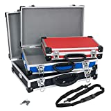 Kofferset Alukoffer Alukiste Werkzeugkisten 3-in-1 VARO + Tragegurte + Schlüssel