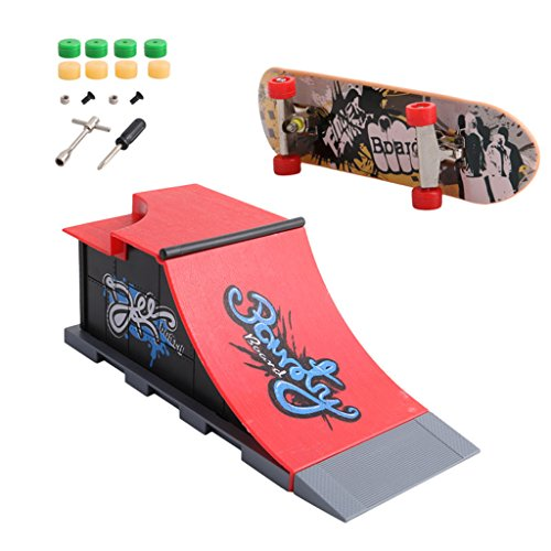 Gwxevce Skate Park Rampa Parts para Fingerboard Finger Board Ultimate Parks Nuevo