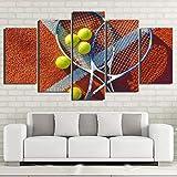 CDERFV Pintura de Lienzo Abstracta Moderna Impresa en HD, 5