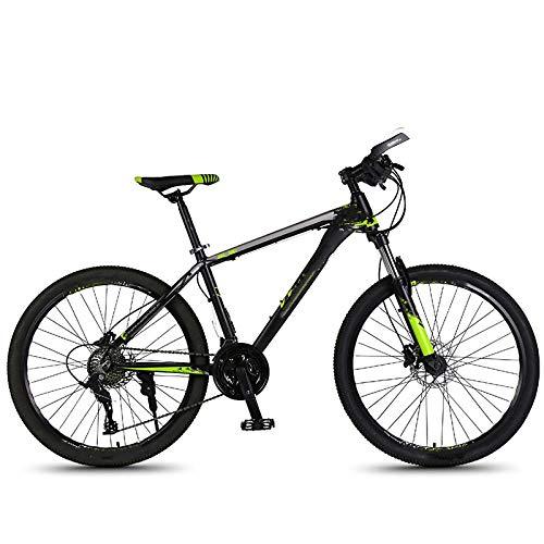Vélo de montagne, pour adulte homme et femme en alliage d'aluminium, vitesse variable, tout-terrain, étudiant, léger, pour l'environnement urbain et trajets vers et depuis le travail
